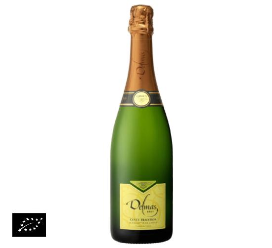 海外有機認証 ビオワイン Blanquette de Limoux brut(オーガニックワイン ブランケット ド リムー ブリュット)フランス産[750ml]【常温便】