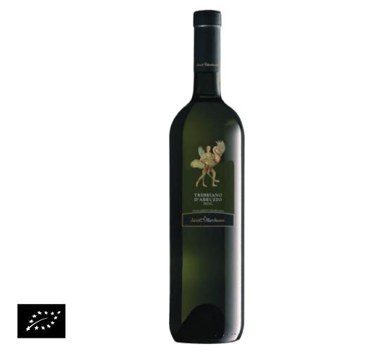 海外有機認証 ビオワイン Trebbiano d'Abruzzo  DOC(オーガニックワイン トレッビアーノ・ダブルツッオ DOC)イタリア産[750ml]【常温便】