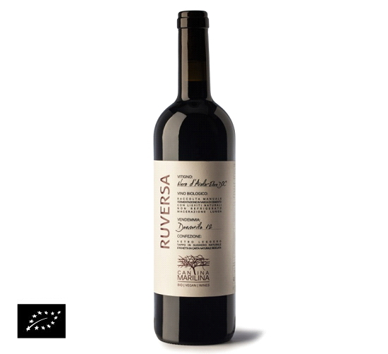 海外有機認証 ビオワイン Ruversa DOC Noto(オーガニックワイン ネロダヴォラ ルバルサ DOCノート)イタリア産[750ml]【常温便】