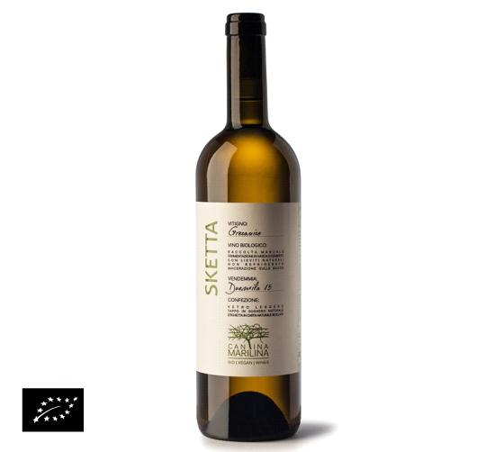 海外有機認証 ビオワイン Sketta IGP Terre Siciliane Grecanico(オーガニックワイン グレカニコ スケッタ)イタリア産[750ml]【常温便】