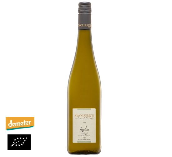 海外有機認証 ビオワイン 2018 Riesling trocken(オーガニックワイン リースリング トロッケン)ドイツ産[750ml]【常温便】