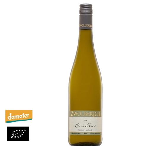 海外有機認証 ビオワイン 2018 Cuvee Anna Riesling feinherb(オーガニックワイン キュヴェ・アンナ リースリング )ドイツ産[750ml]【常温便】