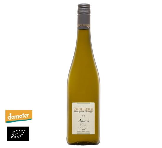 海外有機認証 ビオワイン 2018 Auxerrois trocken(オーガニックワイン オクセロワ トロッケン)ドイツ産[750ml]【常温便】