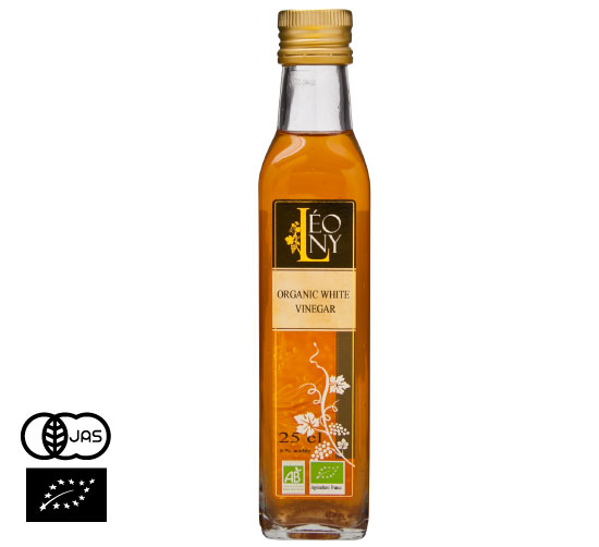 有機JAS認証 ル・ザーゼ 有機白ワインビネガー(オーガニック ワインビネガー ビアンコ)フランス産[250ml]【常温便】