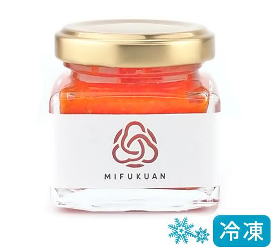柚子胡椒(ゆずこしょう)赤 MIFUKUAN yuzugoshow(三福庵の柚子こしょう )日本産(佐賀県産)[45g]《冷凍便》