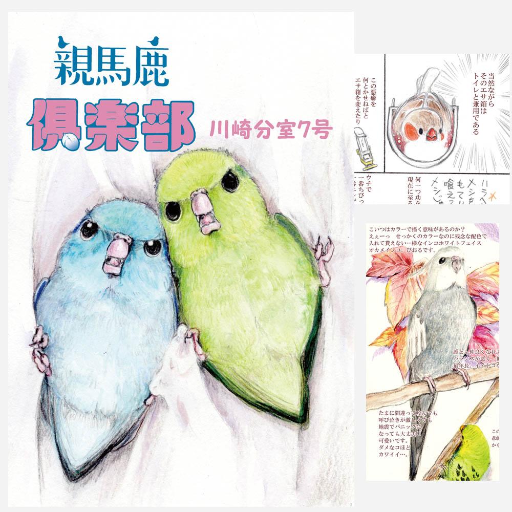 【親馬鹿倶楽部】同人誌/親馬鹿倶楽部・川崎分室7号◆