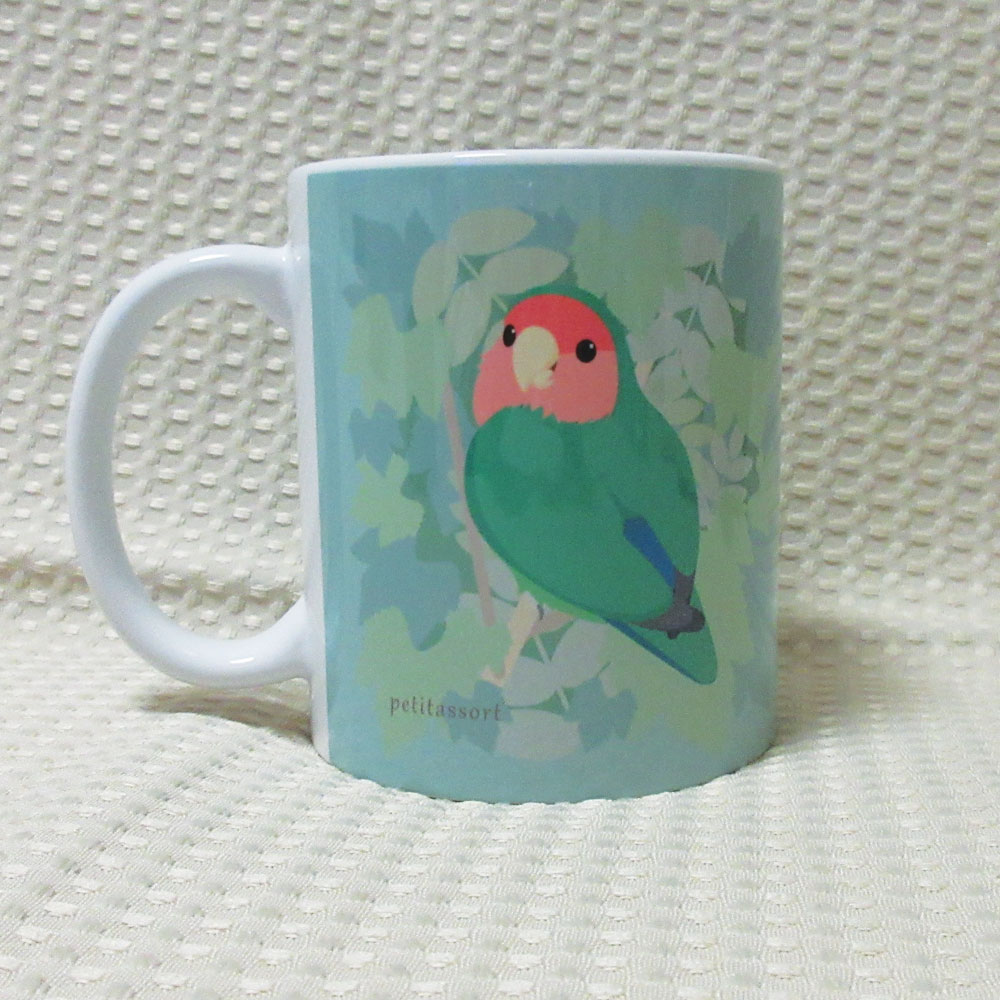 【petitassort】★マグカップ/コザクラインコ・ノーマル