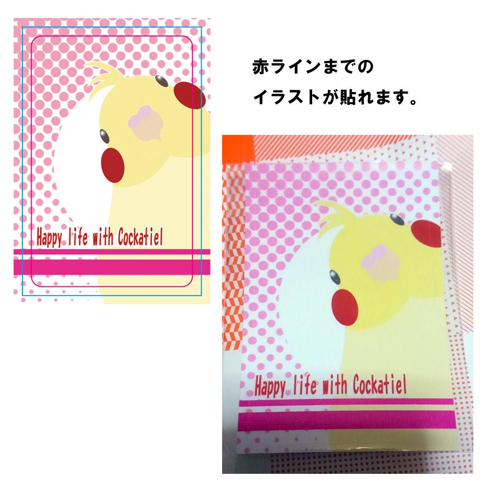 【まぢかるどりぃまぁ】カードサイズシール/オカメ・ルチノー◆クロネコDM便可能