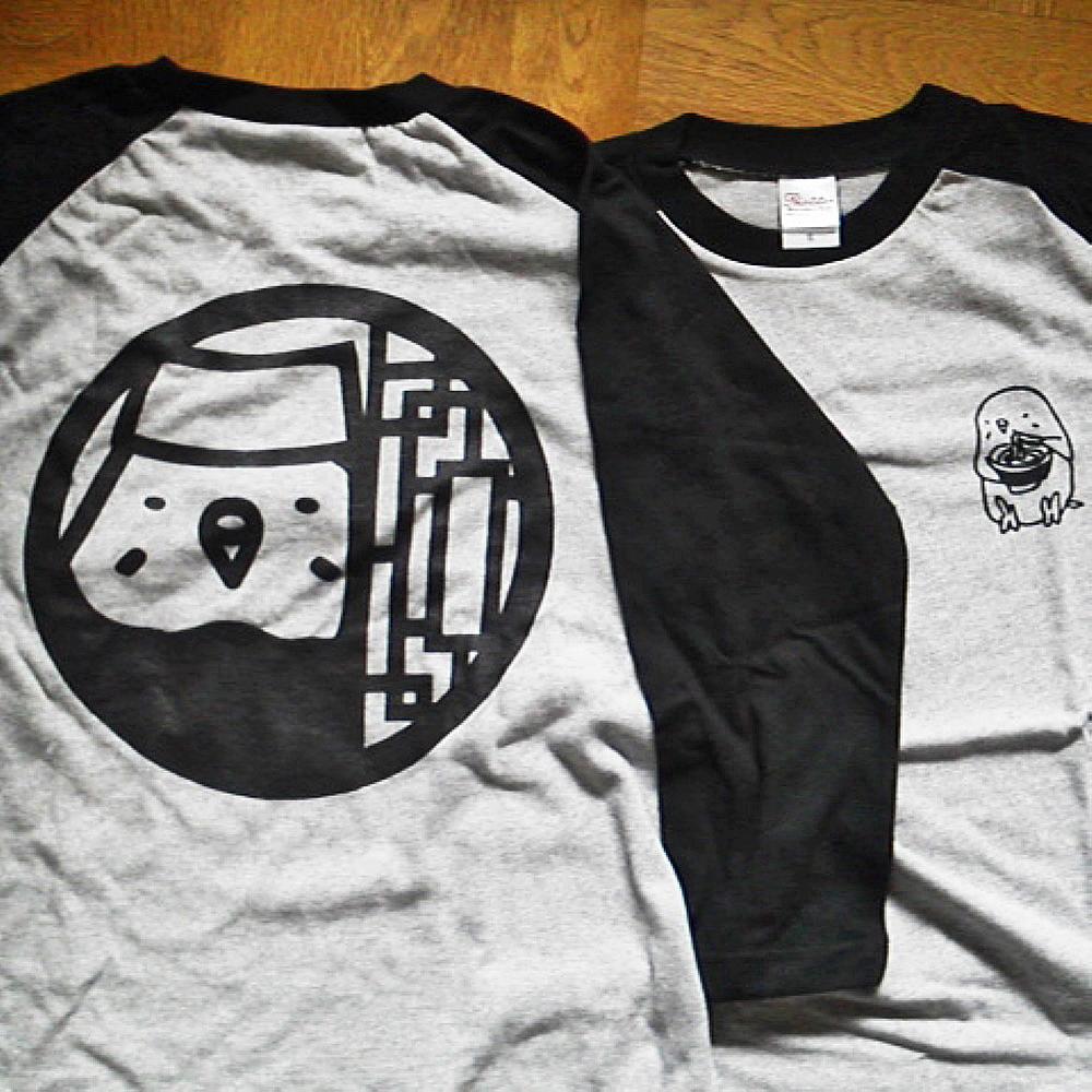 【ぴよぴよガオー】七分袖Tシャツ・メンズS/セキセイ