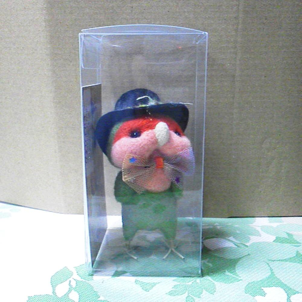 【ぴよぴよガオー】★羊毛帽子ちゃん/コザクラインコ