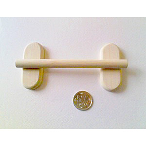 【おかめほんぽ】ココちゃん止まり木15cm/セキセイ文鳥用
