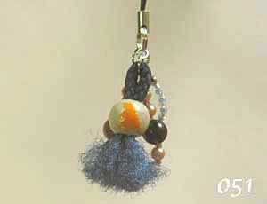 【珠とり屋】★ストラップ051/小鳥◆クロネコDM便可能
