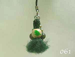 【珠とり屋】★ストラップ061/小鳥◆クロネコDM便可能