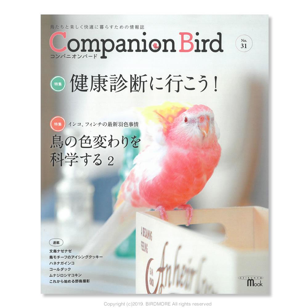 9997576【誠文堂新光社】Companion Bird (コンパニオンバード) NO.31◆クロネコDM便可能