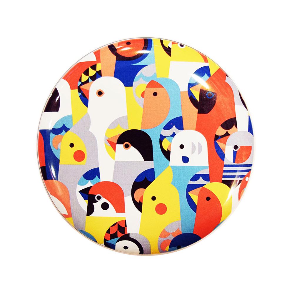 9997757【KOTORITACHI】丸缶チョコ/みつけた小鳥