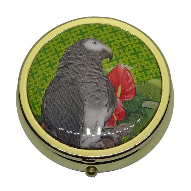 【金のくちばし】★ピルケース・金/コイネズミヨウム