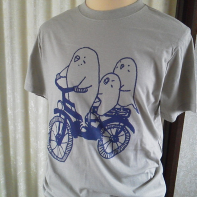 【ぴよぴよガオー】★Tシャツ・男女兼用S/セキセイ