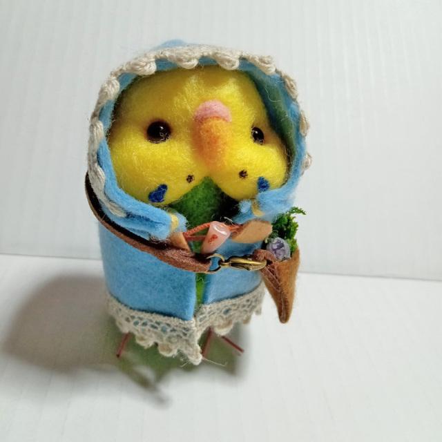 【ぴよぴよガオー】★ポンチョちゃん/セキセイ・グリーン