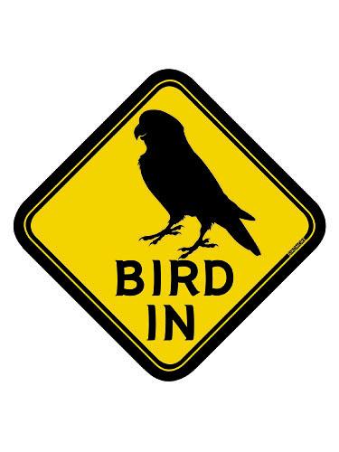 9992056【BMオリジナル】BIRD IN ステッカー コザクラ◆