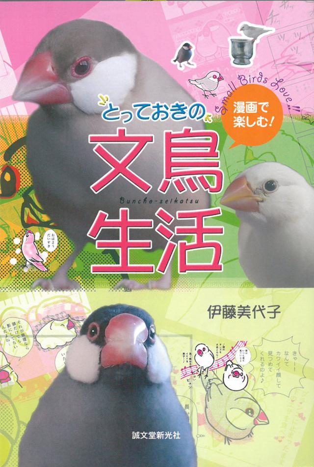9994859【誠文堂新光社】とっておきの文鳥生活/漫画で楽しむ