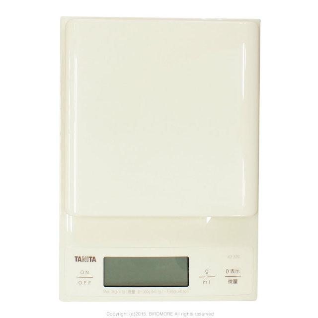 9995534【TANITA】デジタルスケール3kg 0.1g計測 鳥の体重計に