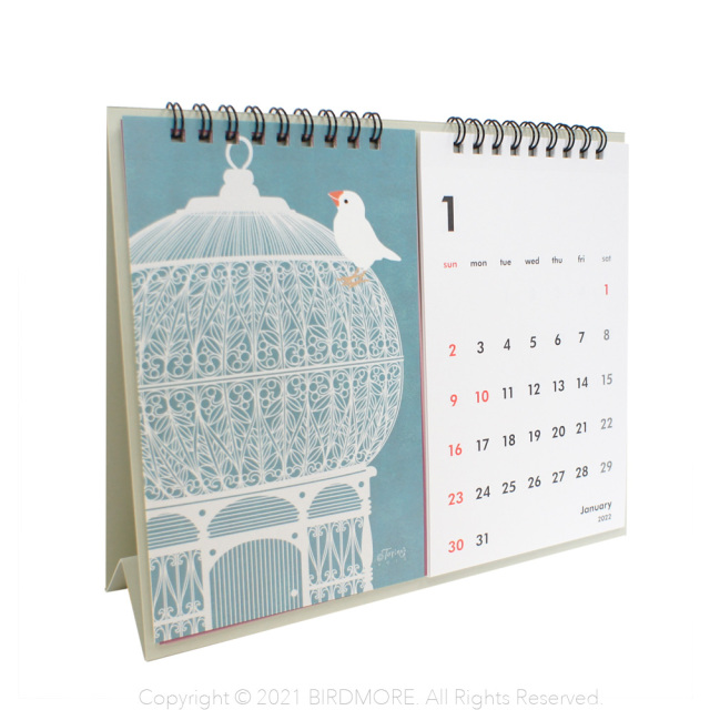 9996138【ORRB】トリノス卓上カレンダー2022◆