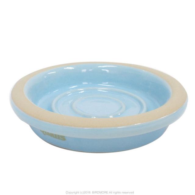 9996982【クオリス】Pottery陶器の食器 L・ブルー
