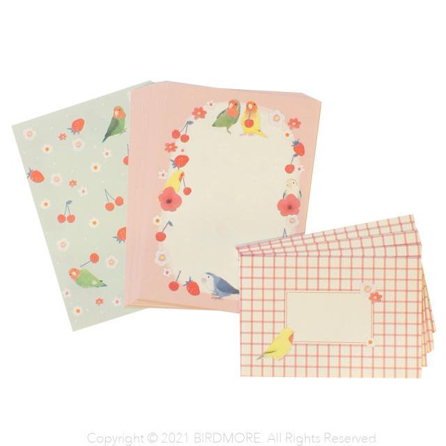 9998111【oriental berry】ミニレターセット/コザクラ ML-7692◆