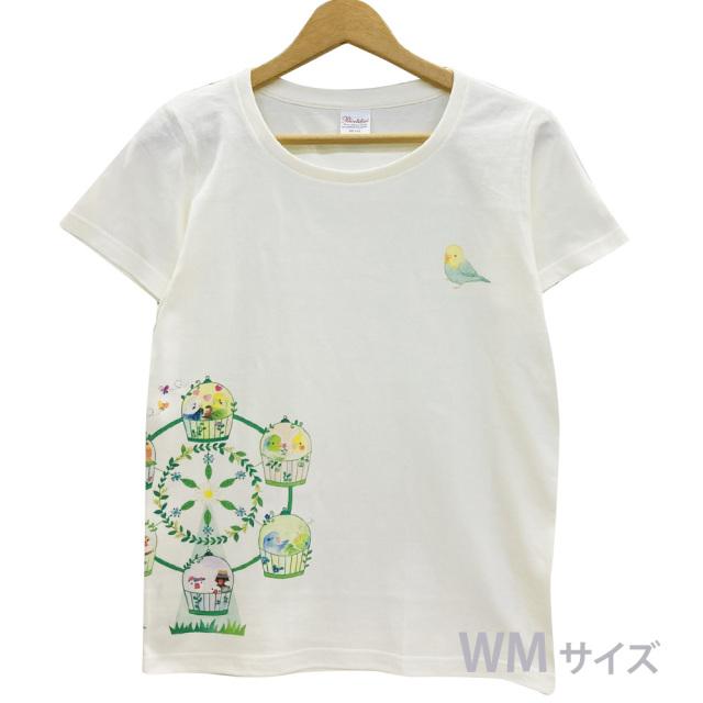 9998175【モンゴベス】Tシャツ・女性用M / 観覧車 ◆