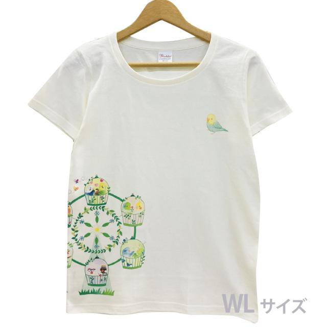9998176【モンゴベス】 Tシャツ・女性用L / 観覧車 ◆