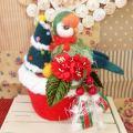 【あにまるめいと】★クリスマスポット/コザクラ・シーグリーン