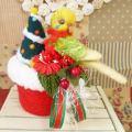 【あにまるめいと】★クリスマスポット/セキセイ・イエロースパングル
