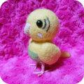 【fumi】★羊毛人形/セキセイ・黄ハルクイン
