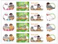 【FT&ぶんちょ屋】シール1/文鳥◆クロネコDM便可能