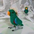 【カリーノピコ】★羊毛インコ/オオハナインコ♂帽子付き