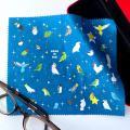 【いんこっこのくに】メガネ拭き・大・星とインコ/多種◆クロネコDM便可能