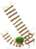 9994148【Prevue Hendryx】62807 Naturals Large Rope Ladder (大)