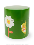 9994435【KOTORITACHI】茶筒/小花とオカメインコ 36556
