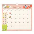 9995533【MIDORI】2020年 壁掛カレンダー(L)トリ柄 30192-006