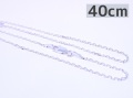 9997824【WHEEL WORKS】シルバーチェーン/40cm