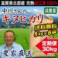 減農薬キヌヒカリ 10kg×3 定期購入