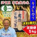 有機キヌヒカリ 5kg 定期購入