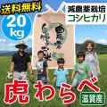 減農薬コシヒカリ 虎わらべ 20kgコース