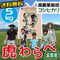 減農薬コシヒカリ 虎わらべ 5kgコース