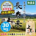 長寿米コシヒカリ 30kg
