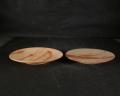 備前焼 登窯 窯元 しょうざん窯 緋襷小皿2枚組2