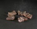 備前焼 登窯 六べえ製作 黄ゴマ蝶の箸置き5個組1