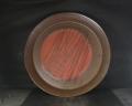 同梱不可 備前焼 穴窯 備前焼中堅作家 獅々堀 達 40.5センチ黄ゴマ特大深皿1