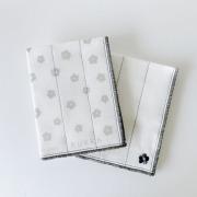 KUKKA かや布巾 2枚セット (グレー) 【6月より順次発送】