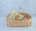 白樺の丸いパンかご XL Φ34cm A (EN作品)